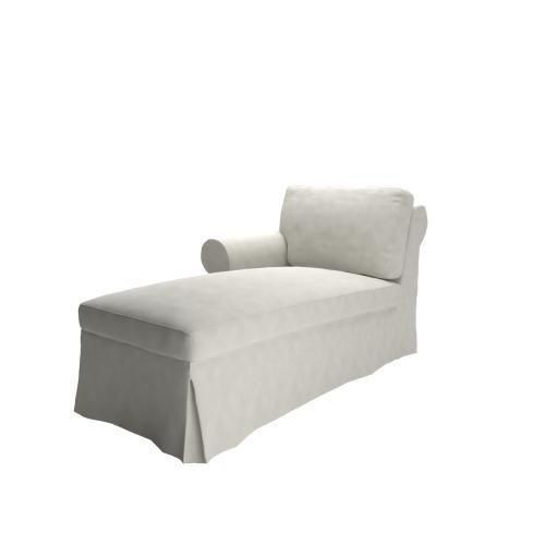 cover for ektorp chaise lounge left. Black Bedroom Furniture Sets. Home Design Ideas