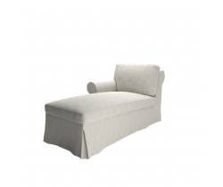 cover for Ektorp chaise lounge left